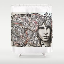 Cerebral freedom (Ode to JDM) Shower Curtain