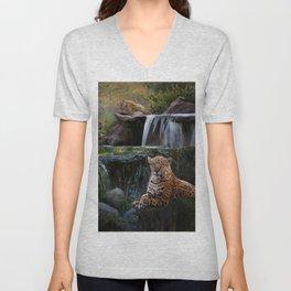 Jaguar Falls Unisex V-Neck