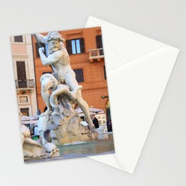 Poseidon - Piazza Navona Stationery Cards