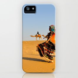 Thar Desert, Rajasthan, India iPhone Case