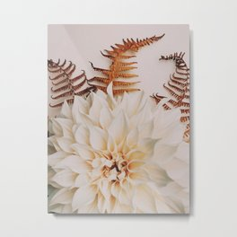 Autumn Mood #2 - Modern Botanical Photograph Metal Print