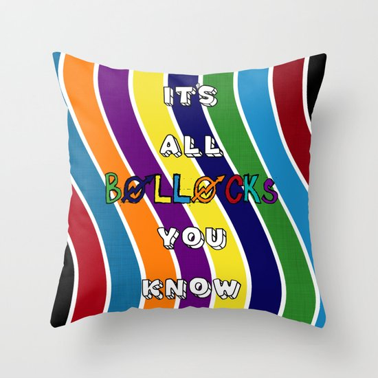 It is I tells thee Throw Pillow