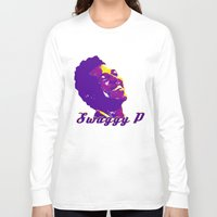 lakers Long Sleeve T-shirts featuring Swaggy by SUNNY Design
