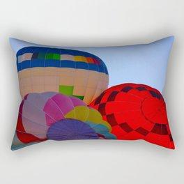 Hot Air Balloon Festival - II Rectangular Pillow