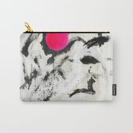 Ink Pink Abstract Carry-All Pouch