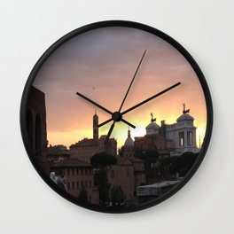 Flying about Wall Clock