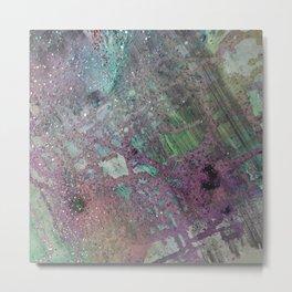 Purpley Glitz Metal Print