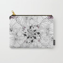 Hibiscus meets Pandanus (St. Damien 13) Carry-All Pouch