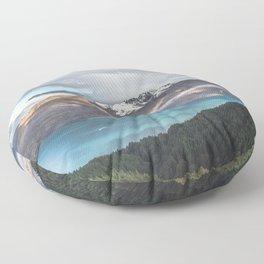 Island clouds Floor Pillow