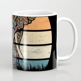 Elephant Elephant Drawing Coffee Mug