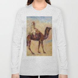 """Auguste Renoir """"A dos de chameau"""" Long Sleeve T-shirt"""