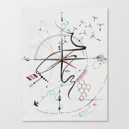 Wanderlust: Semper Liber Canvas Print