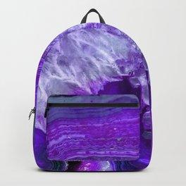 purple stone Backpack