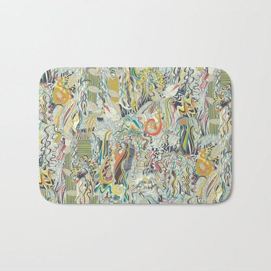 hairspray jungle Bath Mat