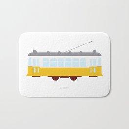 Lisbon Tram Bath Mat