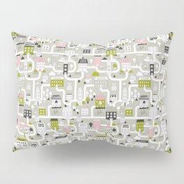 City map Pillow Sham