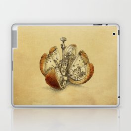 Steampunk Orange (sepia) Laptop & iPad Skin