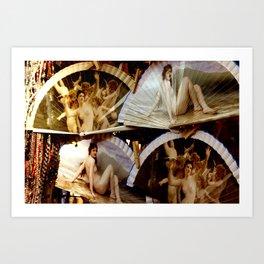 """""""Las damas de los abanicos"""" Art Print"""