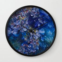 Garden Whispers Wall Clock