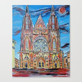 St Vitus Cathedral Canvas Print