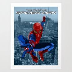 Amazing Spider-Man (Film Title) Art Print