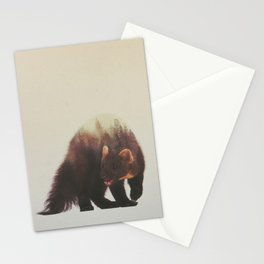 Veluwe V2: Pine Marten Stationery Cards