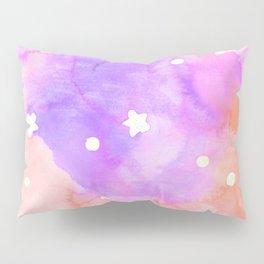 Starry Sky Raspberry Milkshake Pillow Sham