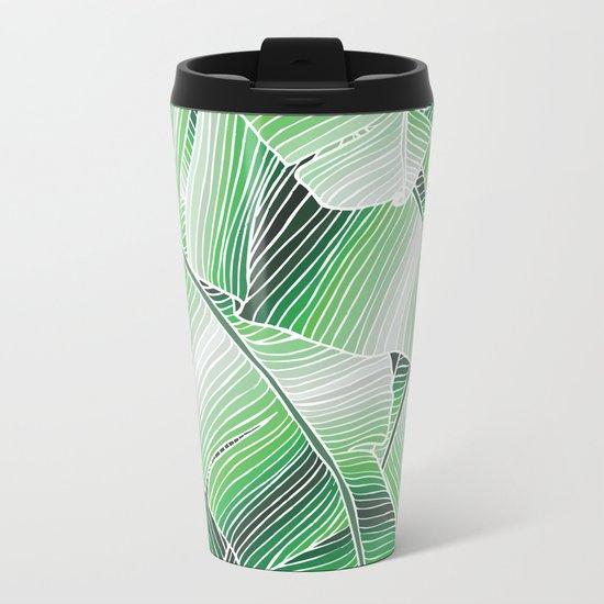 Foliage Metal Travel Mug