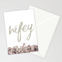 wifey Stationery Cards