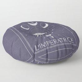 L'Imperatrice or L'Empress Tarot Floor Pillow