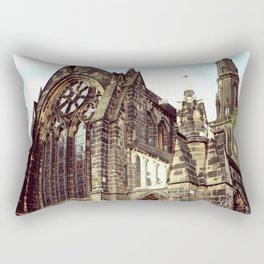 glasgow cathedral medieval cathedral Rectangular Pillow