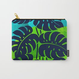 PLANTS - Philodendron#1_abstract bgr Carry-All Pouch