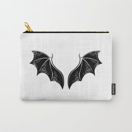 Black Dragon Wings Carry-All Pouch