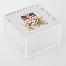 Remove everything that holds you down Acrylic Box