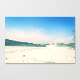 A Happening Canvas Print