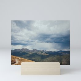 Summer Rainstorm over Rocky Mountain National Park Mini Art Print