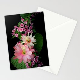 Cacti, Pink And Paler Stationery Cards