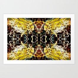 Chaos Tree Kaleidoscope 3 Art Print