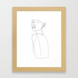 Lordly Girl Framed Art Print
