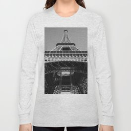 Eiffel Tower, Paris, France Long Sleeve T-shirt