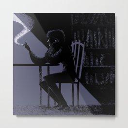 Smokes Metal Print