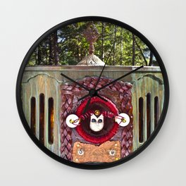 Alien Doll People Assimilator Wall Clock