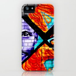 Laneway Stare iPhone Case