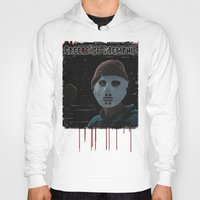 memphis Hoodies featuring Creeps of Memphis by negativecreep