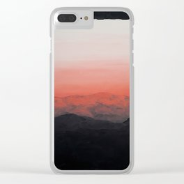 First light Clear iPhone Case