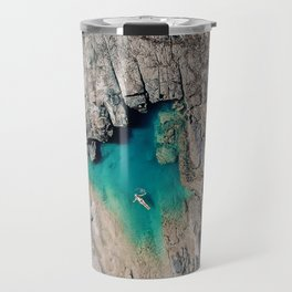 When i look around at nature, i realise that i am Nature. Travel Mug