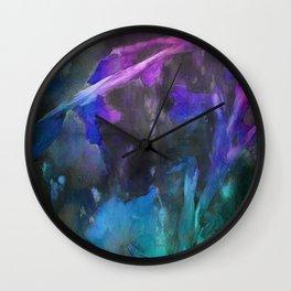 GLADIOLI REVISITED Wall Clock