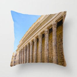 The Pantheon in Rome Italy Throw Pillow