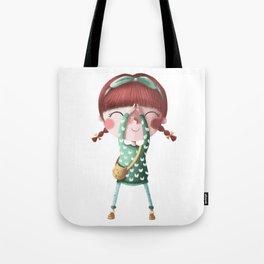 A de Tina Tote Bag