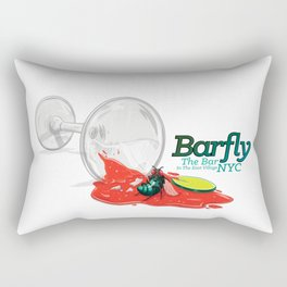Barfly The Bar In The East Villgage NYC Rectangular Pillow